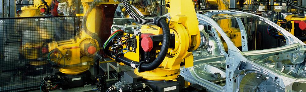 výrobní hala pro automobilový průmysl společnosti MOTOR JIKOV ve významu EDI ve světě strojírenství a slévárenství